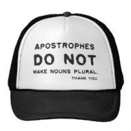Peace, Love, andApostrophes
