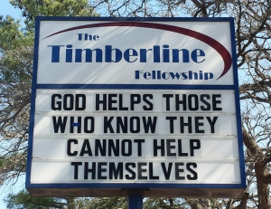 Sorry, Ben. This is the real truth about who God helps.